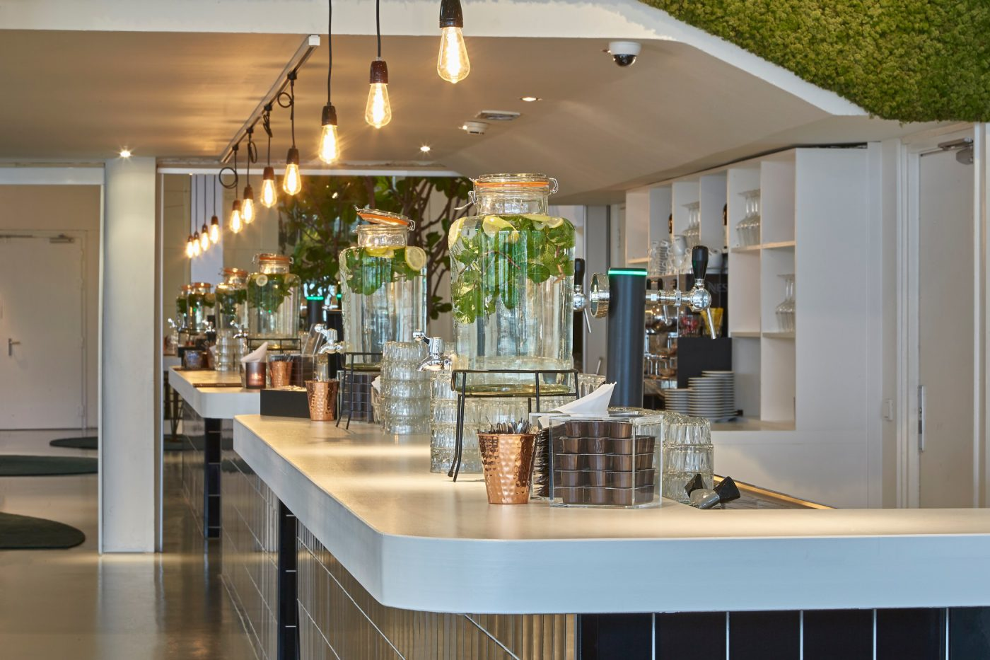 De bar van de Green Lounge Gooiland evenementenlocatie Hilversum