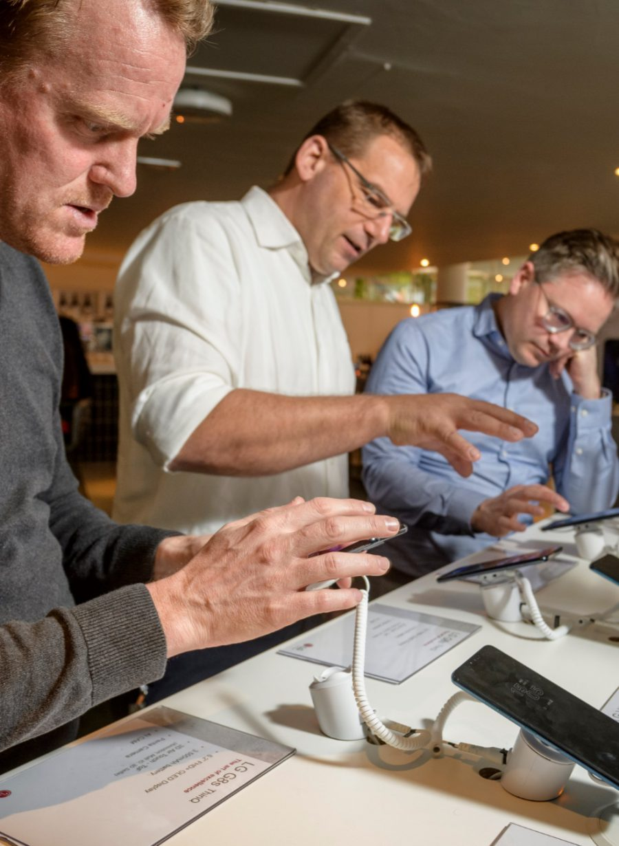 Beurs LG smartphone Gooiland Evenementenlocatie