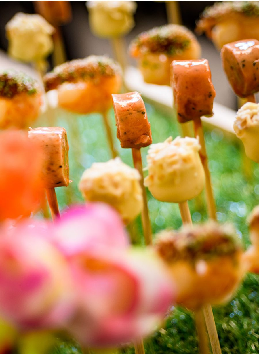 Gooiland catering congres bites op stokje