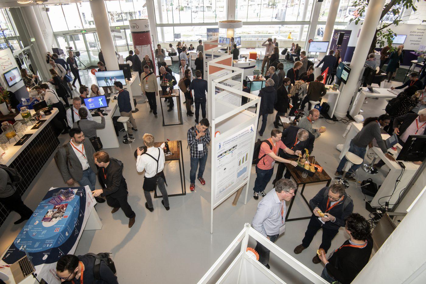 Beursvloer in Gooiland bij ICT Open