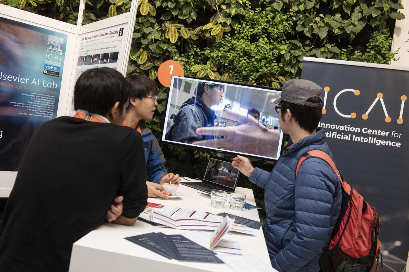 Productpresentatie Stand ICT Open
