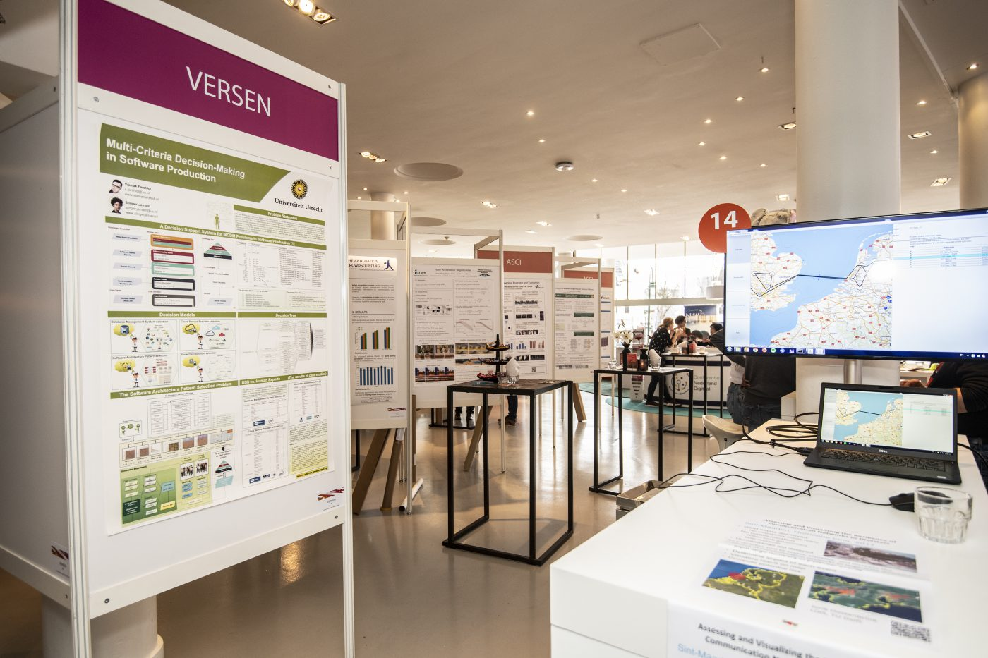 Beursvloer ICT Open in Gooiland