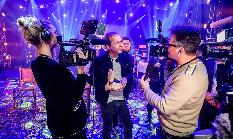 Edwin Evers wint Gouden RadioRing bij Gooiland