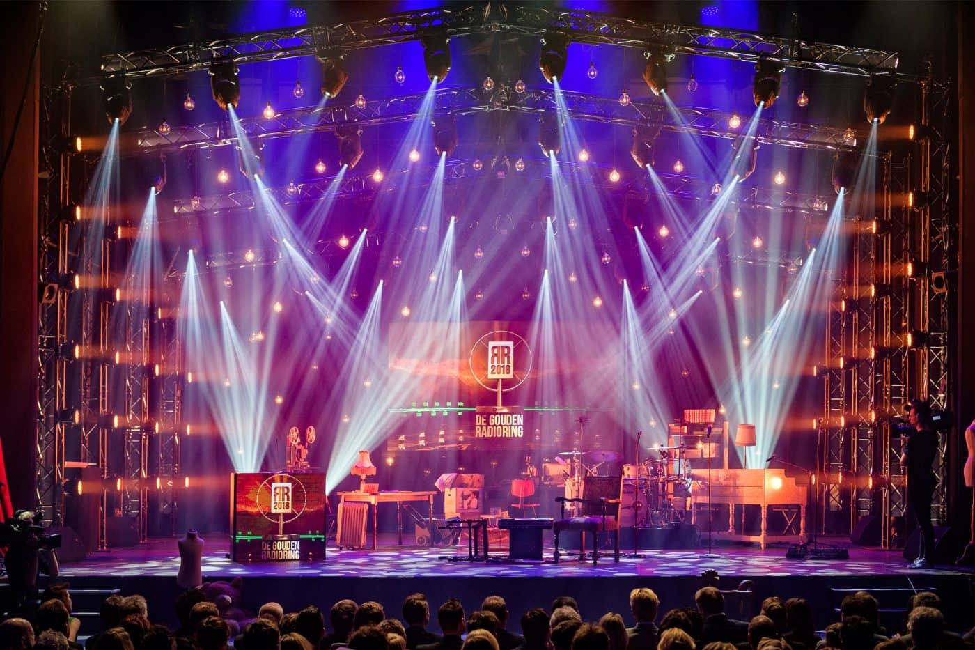 RadioRing Theater licht show Gooiland Hilversum
