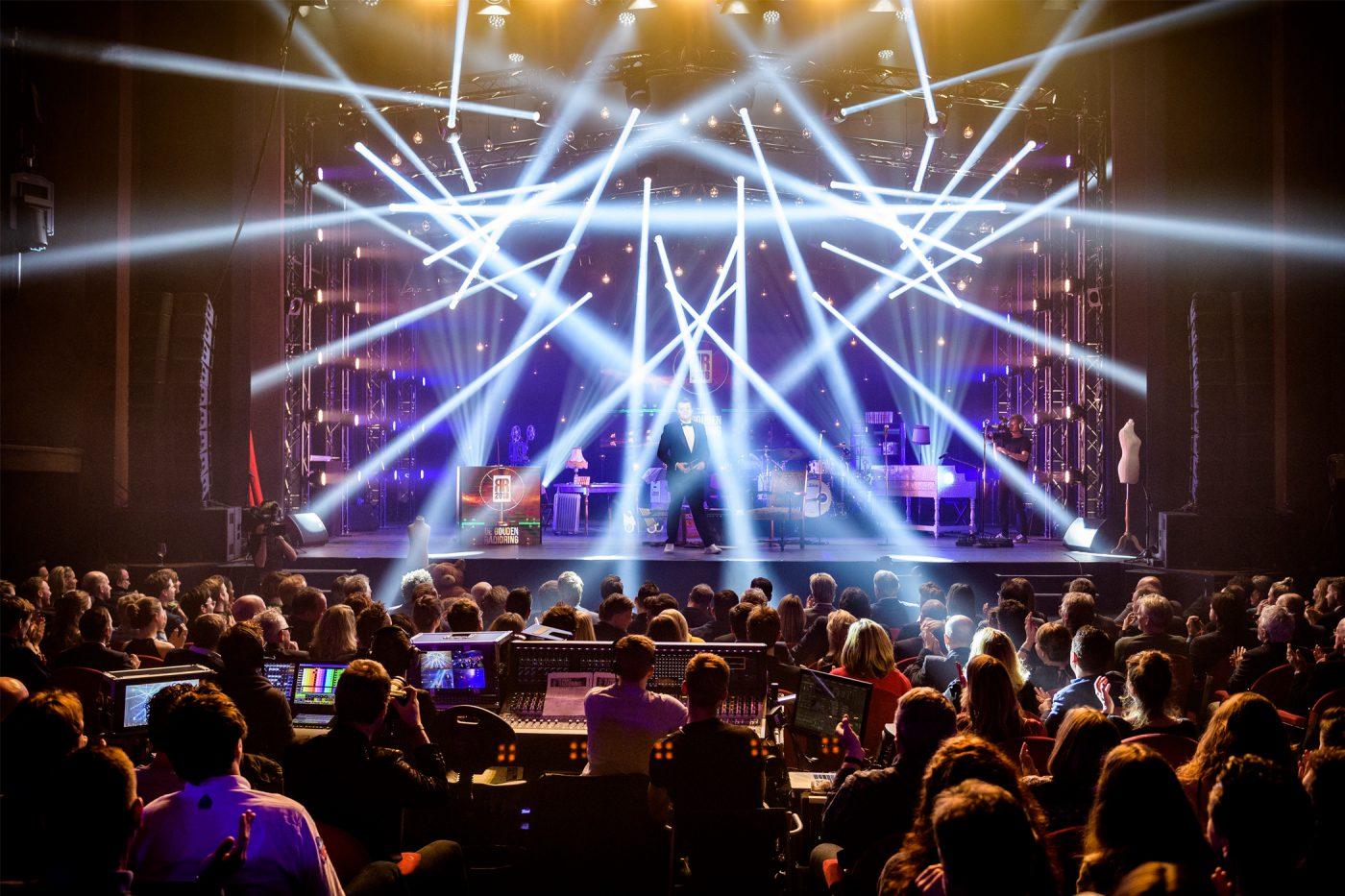 Theater RadioRing licht show Gooiland Hilversum