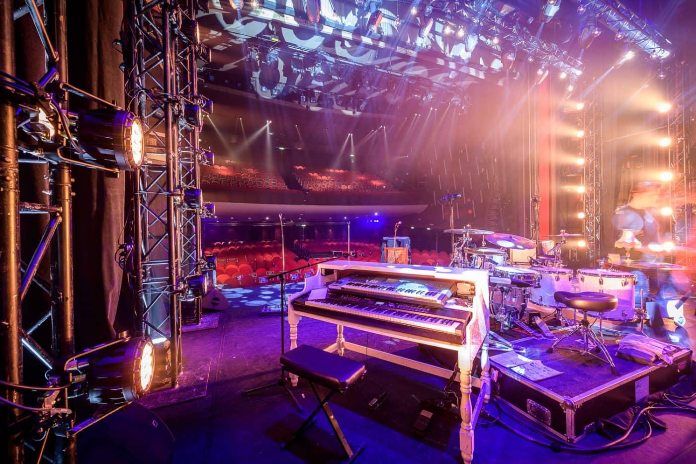 Theater podium RadioRing piano Gooiland Hilversum