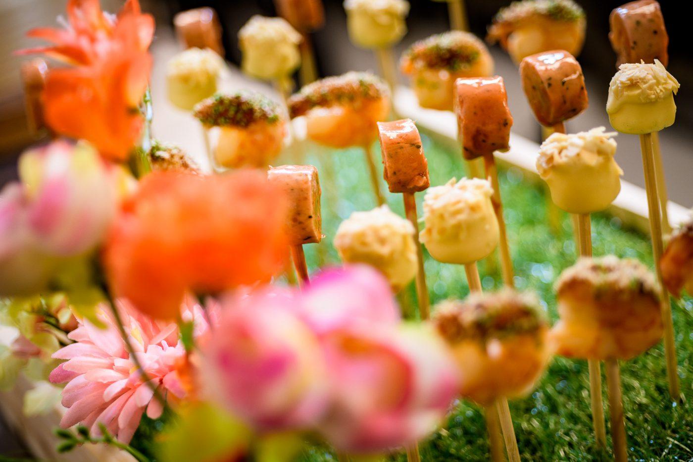 Radioring catering stokjes bij Gooiland