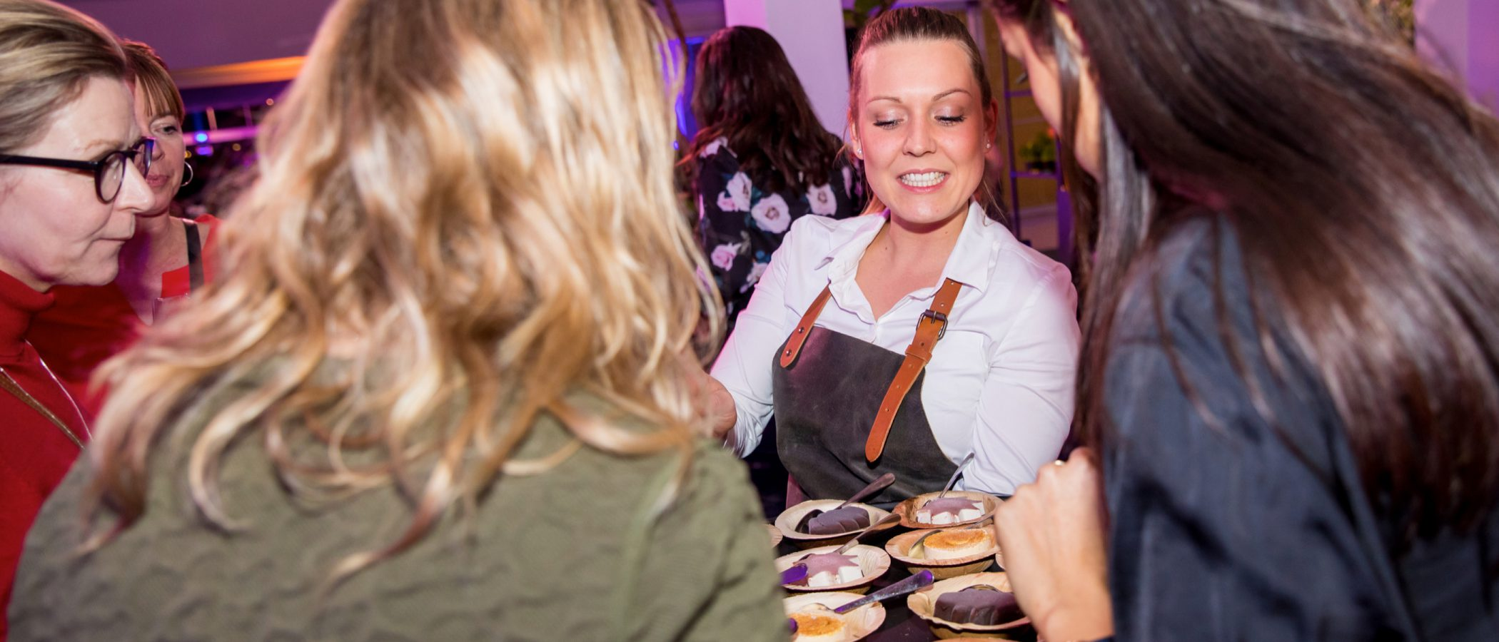 Evenement organiseren catering dessert