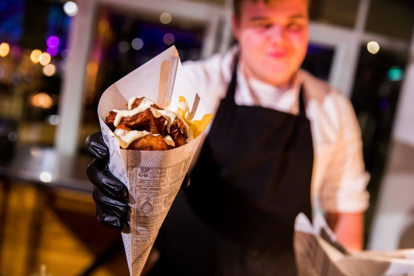 Catering puntzak Lidl bedrijfsfeest