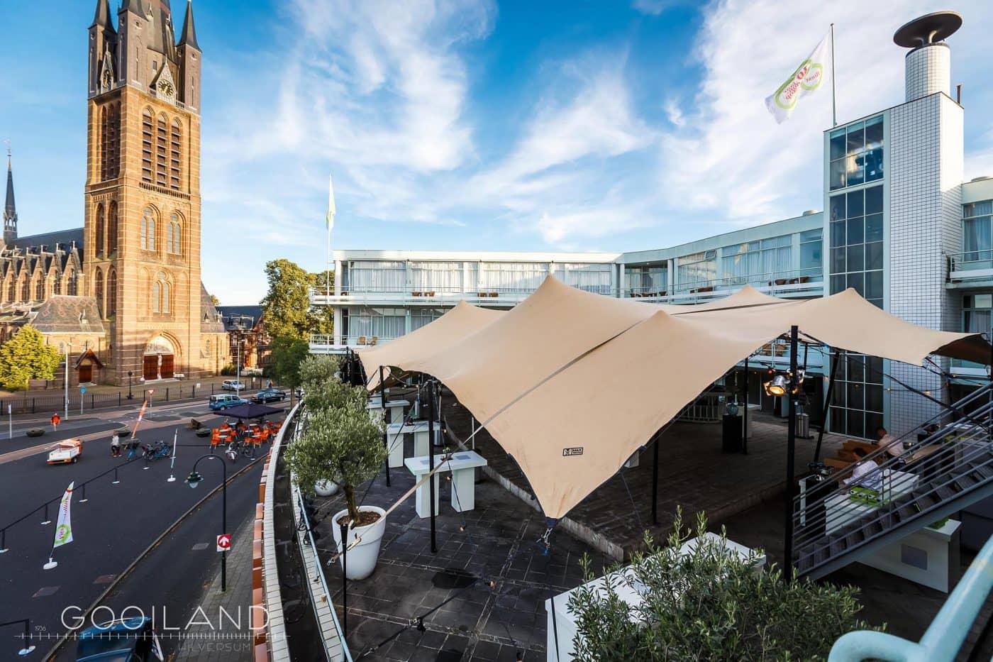 Bernard Bijvoet Roof Terrace