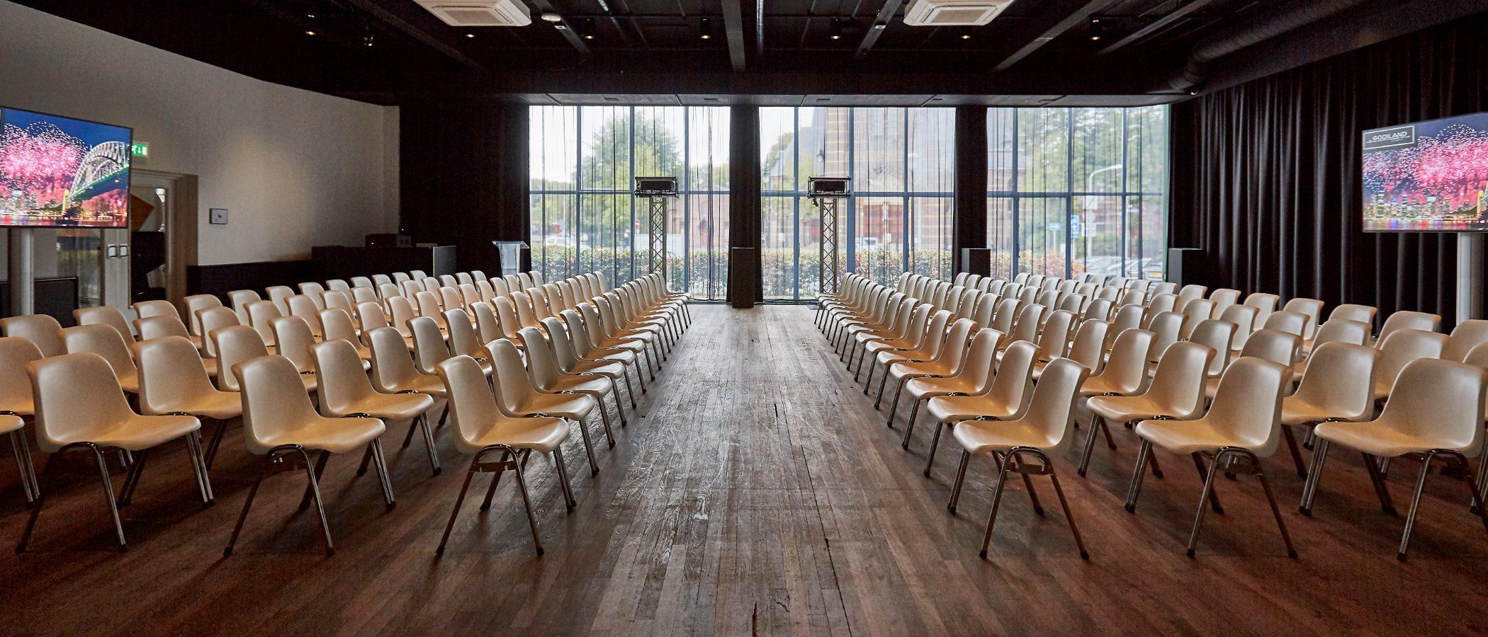 Cineac ruimte bij Gooiland evenementenlocatie