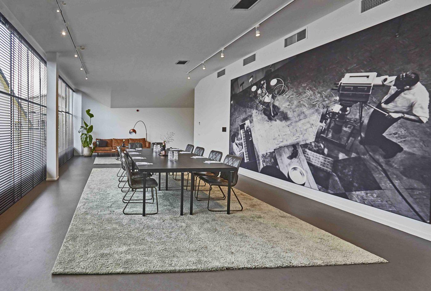 Jeanne Roos Room standaardopstelling bij Gooiland in Hilversum