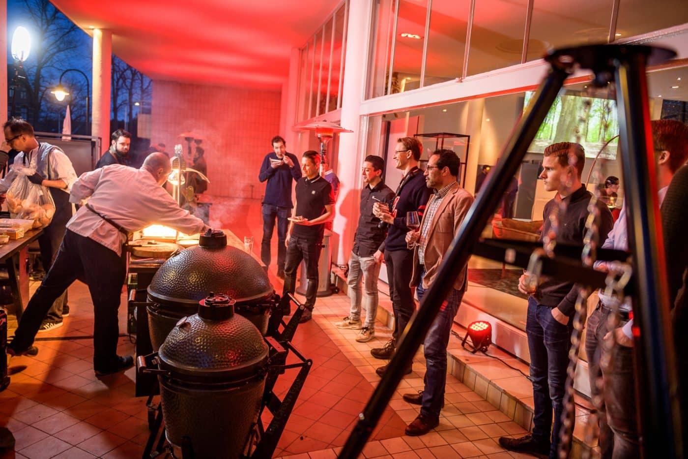 LG Beurs BBQ op bordes bij Gooiland