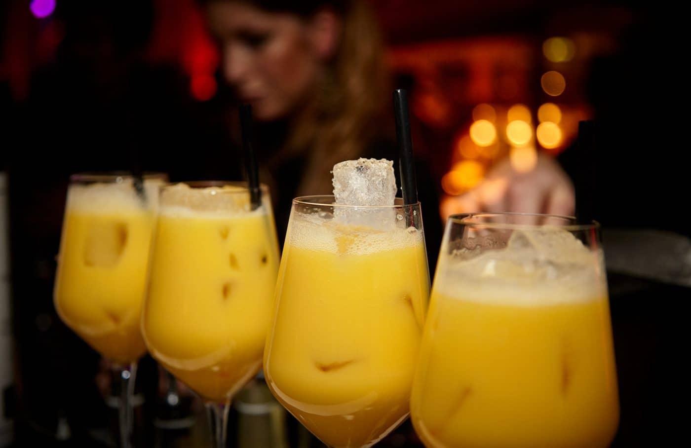 Cocktails bij bedrijfsfeest Gooiland