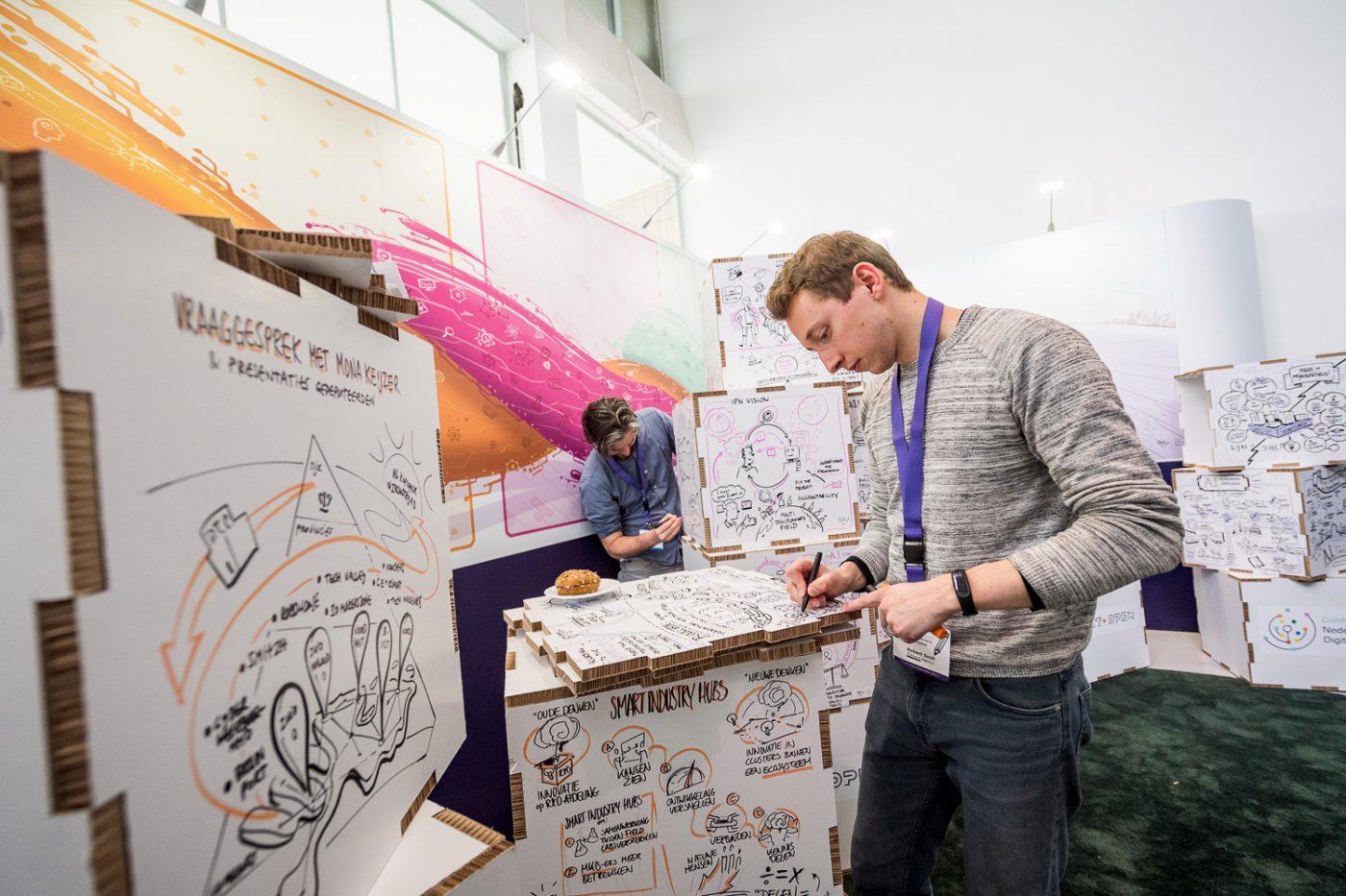 Nederland Digitaal Dag bij Gooiland; een groot congres