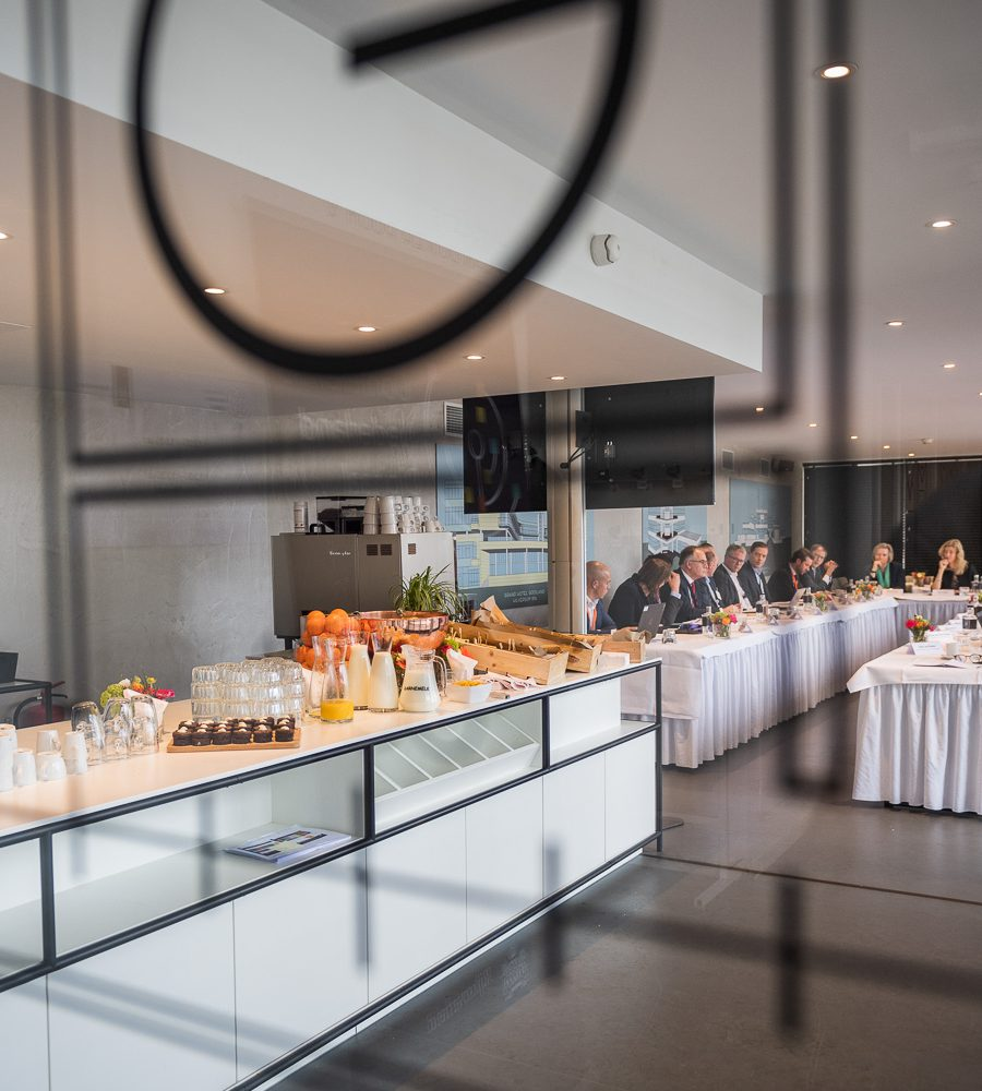 Jan Duiker room luxe lunch bij Gooiland Events