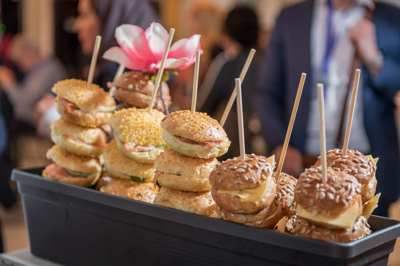 Broodparade bij congres Gooiland Evenementenlocatie Hilversum