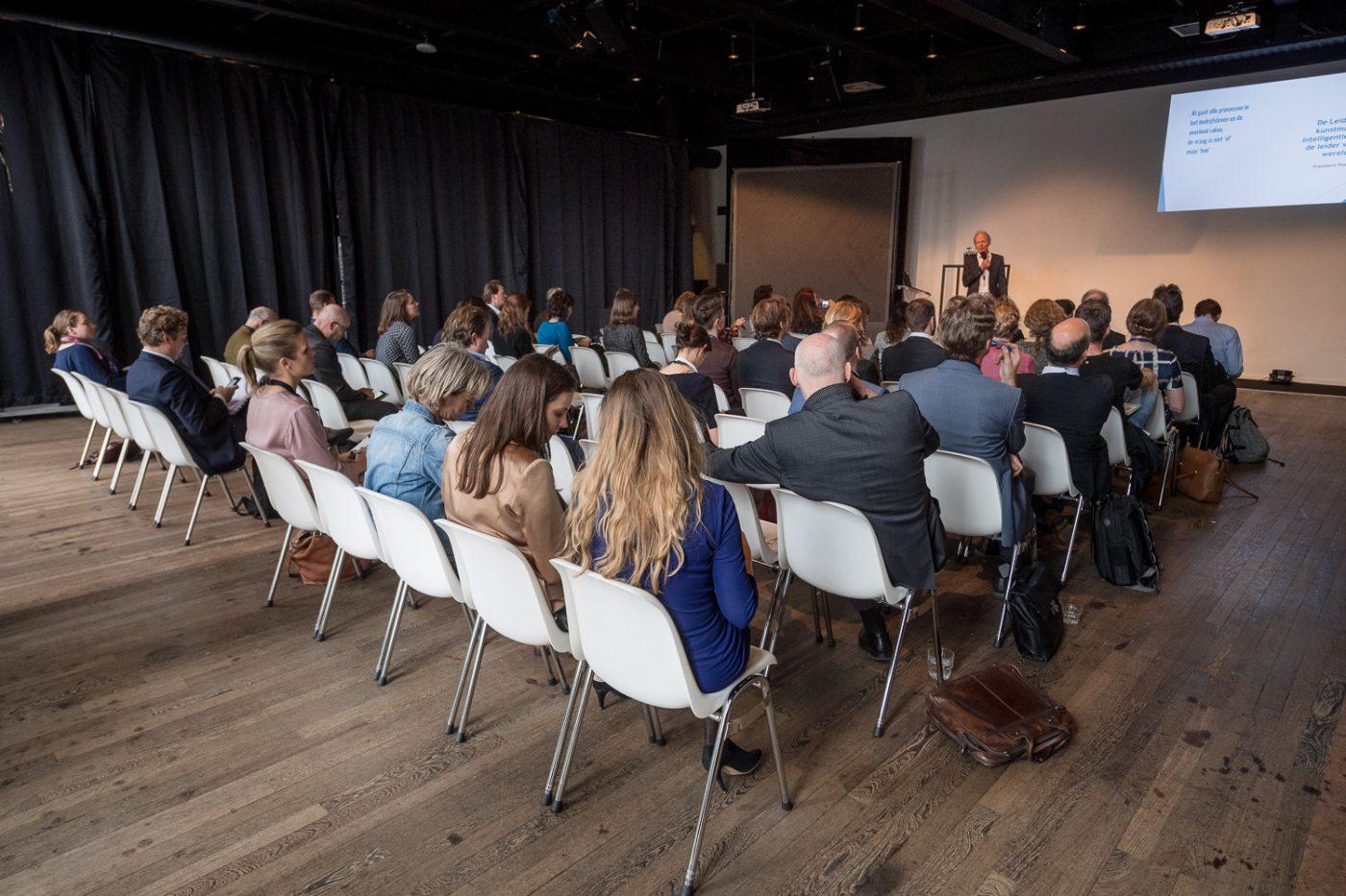 Plenaire sessie bij Cineac symposium