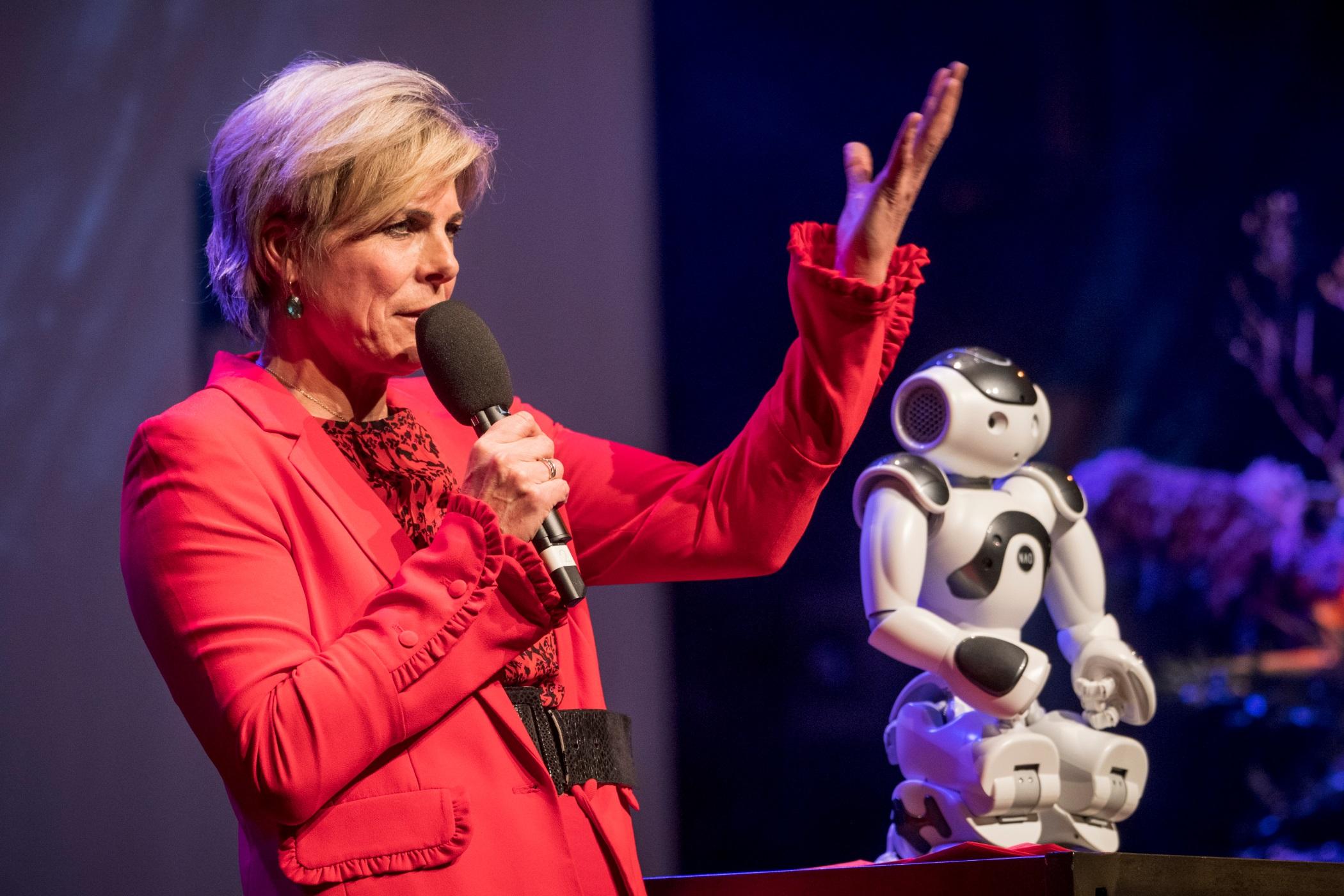 Congres bij Gooiland Nederland Digitaal dag prinses Laurentine