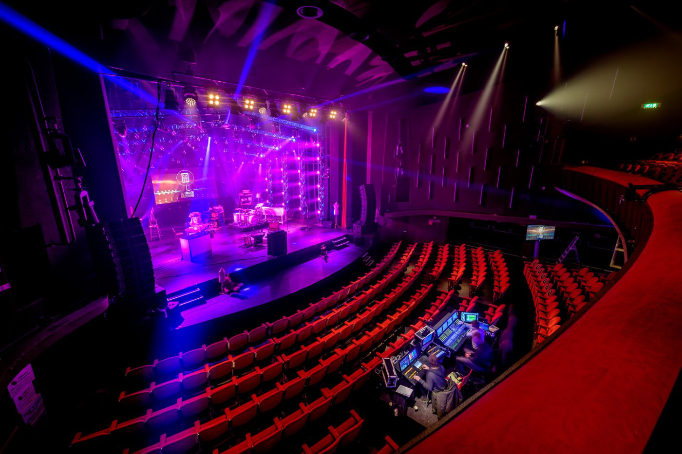 Gooiland Theater in Hilversum in standaardopstelling