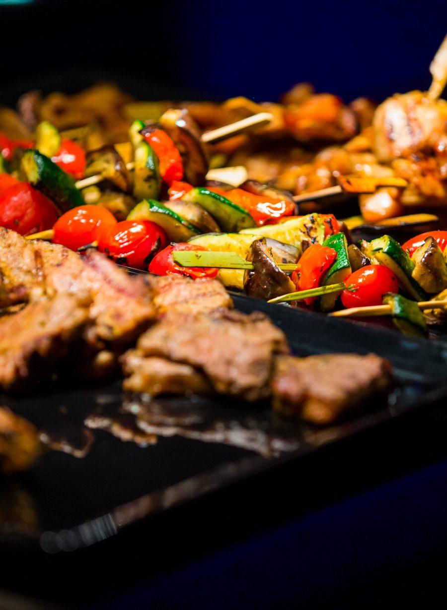 BBQ bij Gooiland Events tijdens een congres