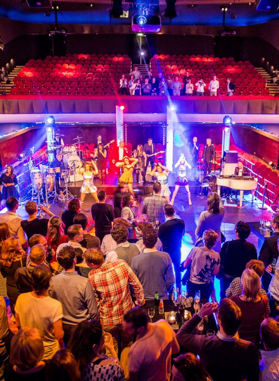 Feest podium theater Gooiland evenementenlocatie