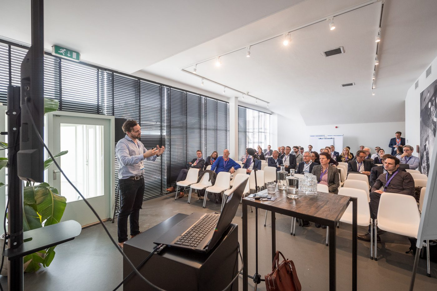 Symposium organiseren bij Gooiland