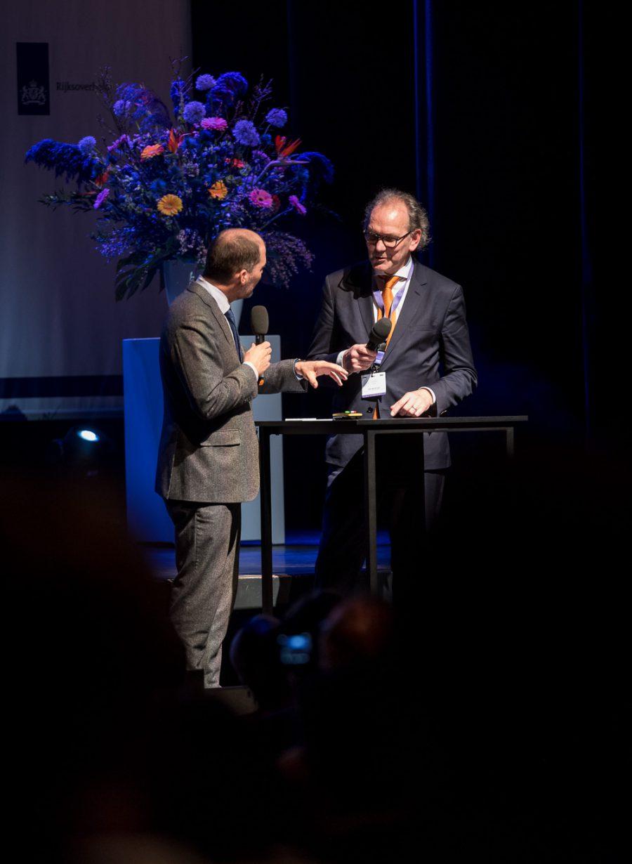 Locatie voor seminars op het podium van Gooiland Theater