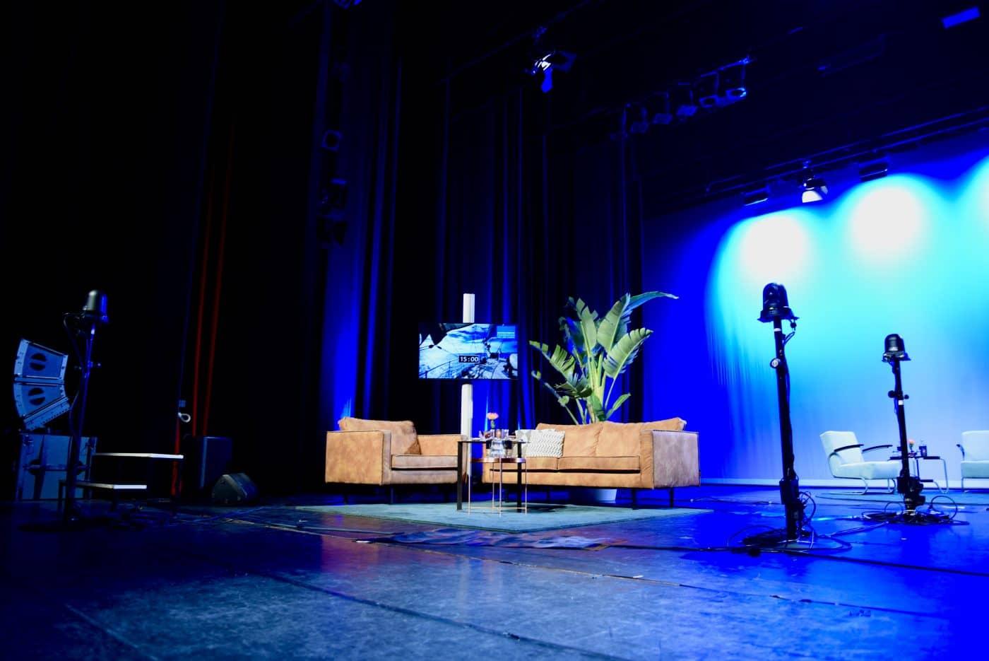 Studio Hilversum Theater setting