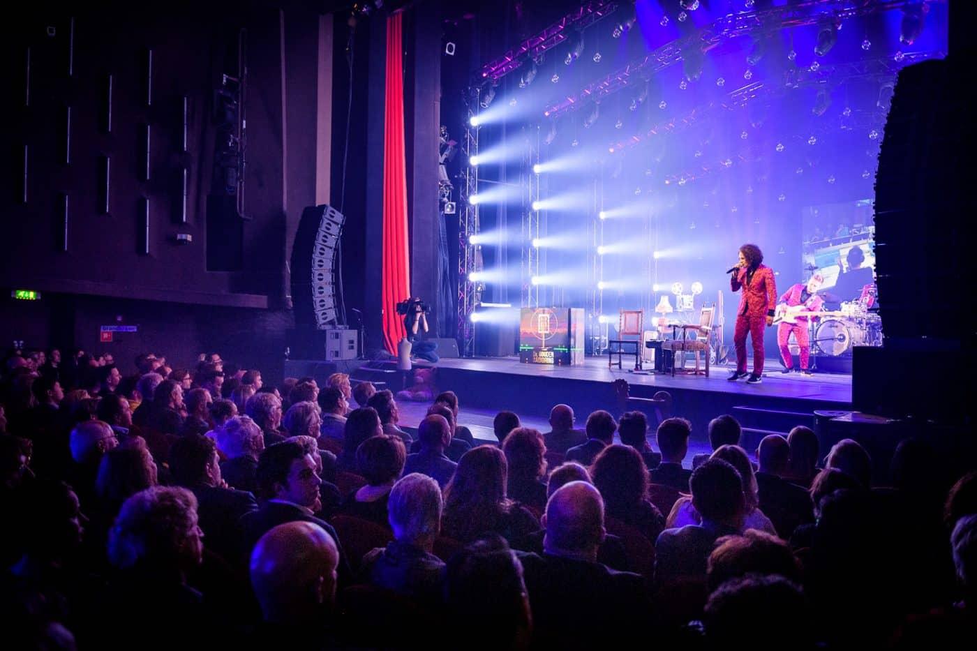 Optreden podium