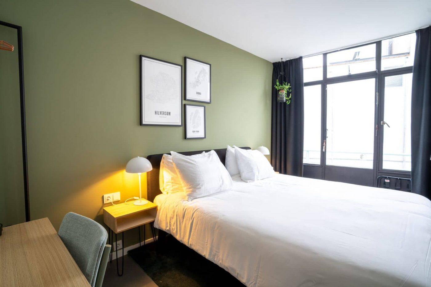 Superior/comfort kamer met groene wand