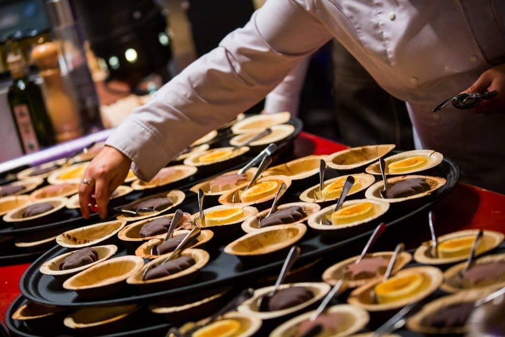 Dessert Lidl bedrijfsfeest Gooiland