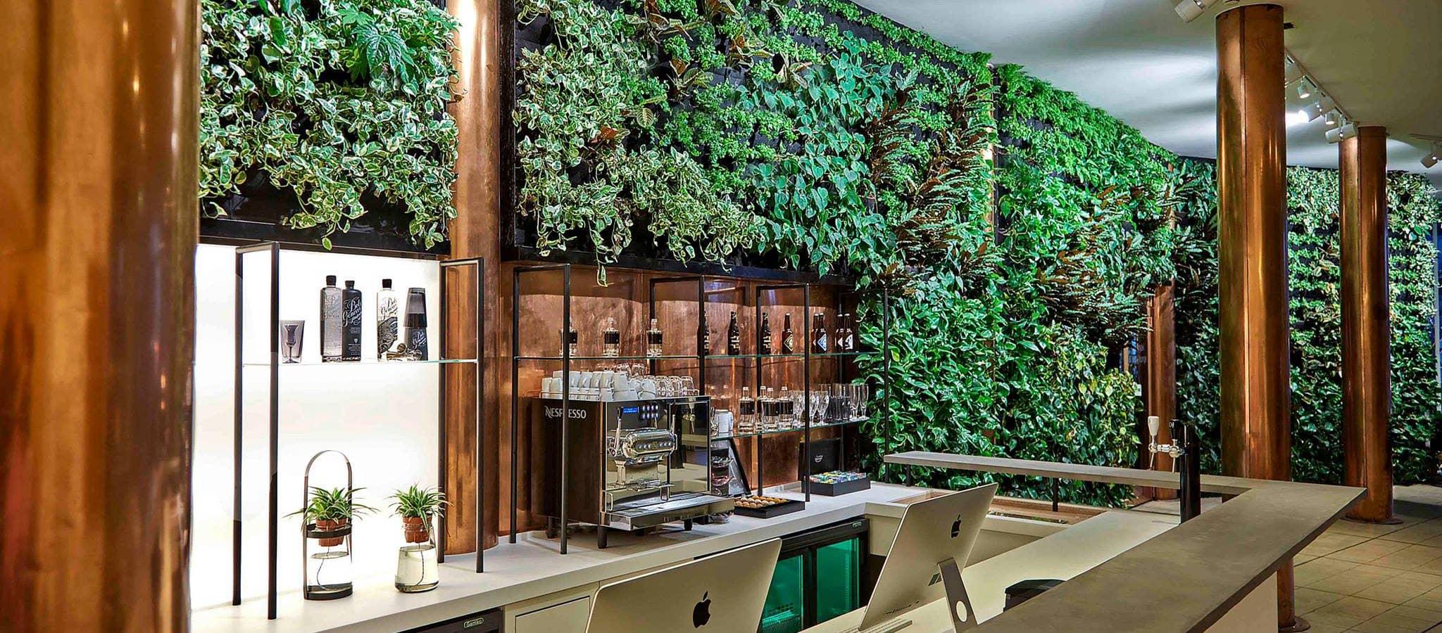 Groene Copper Bar