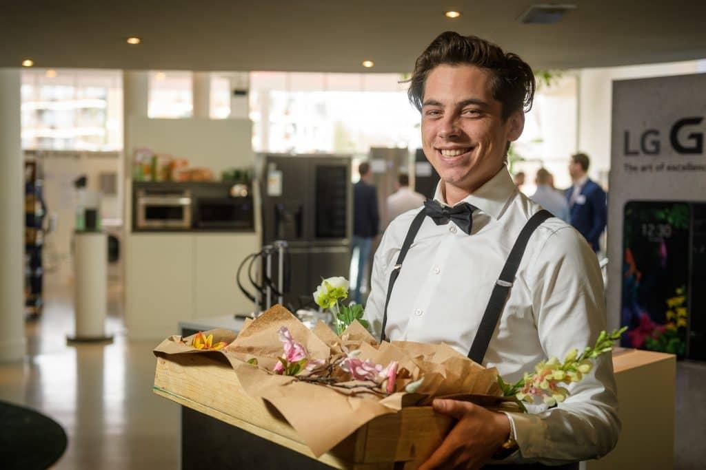 Catering tijdens de LG Beurs Gooiland Hilversum